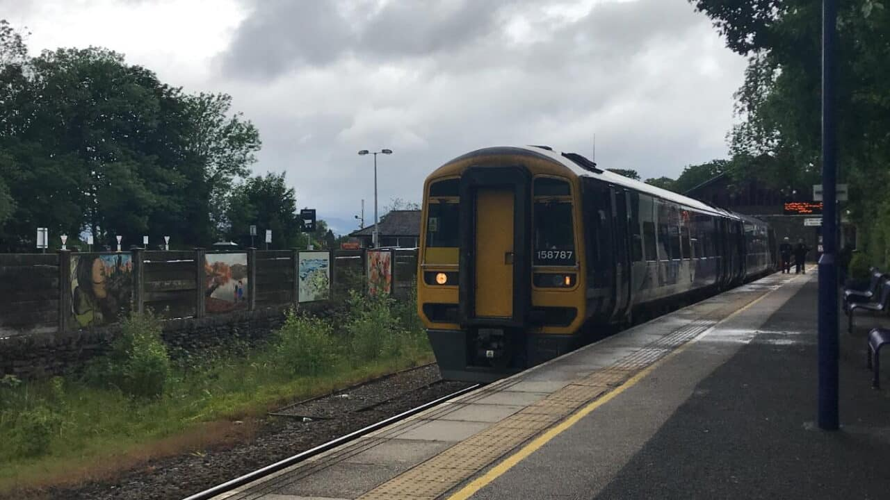 Northern Class 158 at Windermere