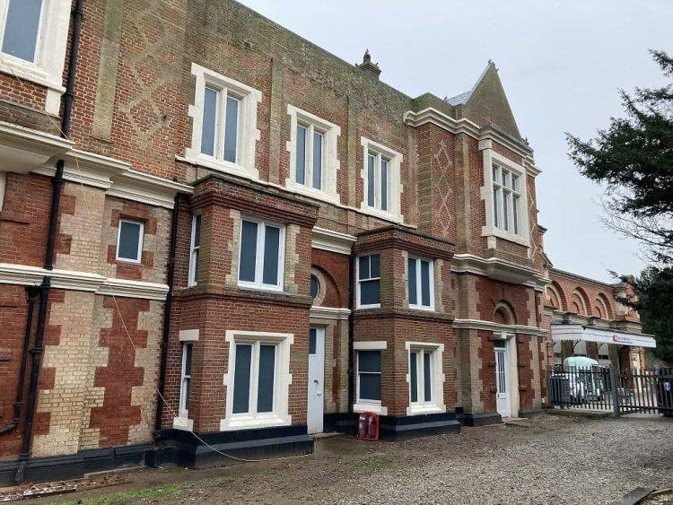 bury st edmunds station masters house restored 2021