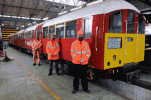 Last day for the Island line trains