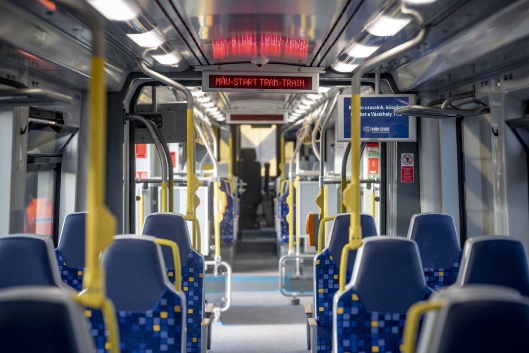 New Stadler Citylink trams arrive in Hungary