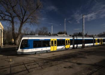 New Stadler Citylink trams arrive in Hungary