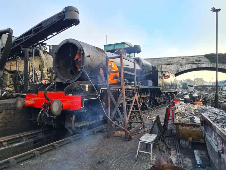 31806 Under Overhaul // Credit Adam Woodman