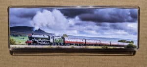 Steam train magnet featuring 45562 Alberta