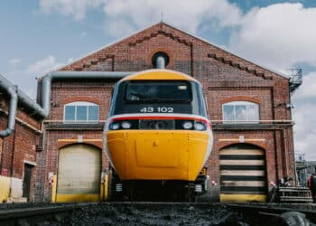 HST Powercar 43102 at Neville Hill