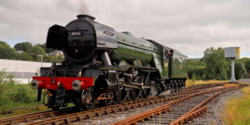 Flying Scotsman for Lloyds Bank Advert