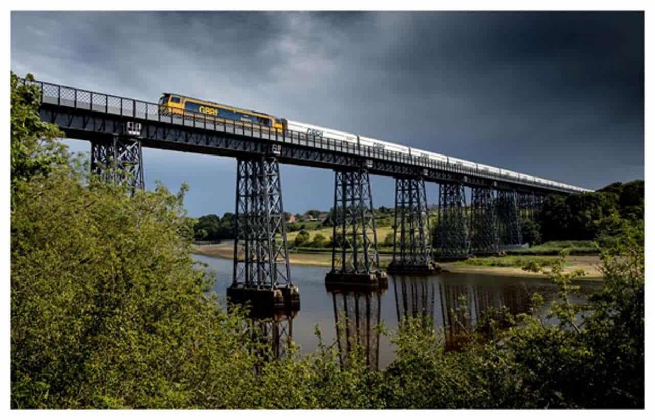 GBRF on a bridge