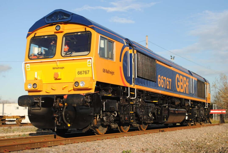 GB Railfreight Class 66