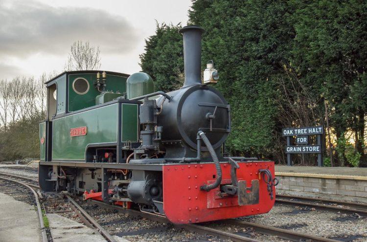Isaac // Credit Statfold Barn Railway
