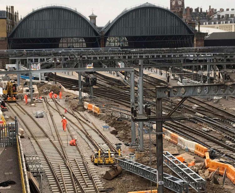 Keeping King's Cross on track – Main stage of £1.2billion upgrade begins next week