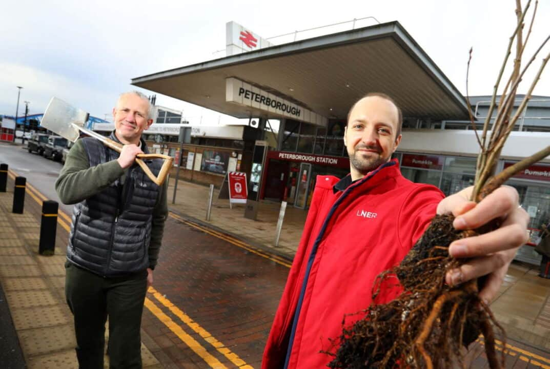5000 trees planted in Peterborough thanks to LNER partnership