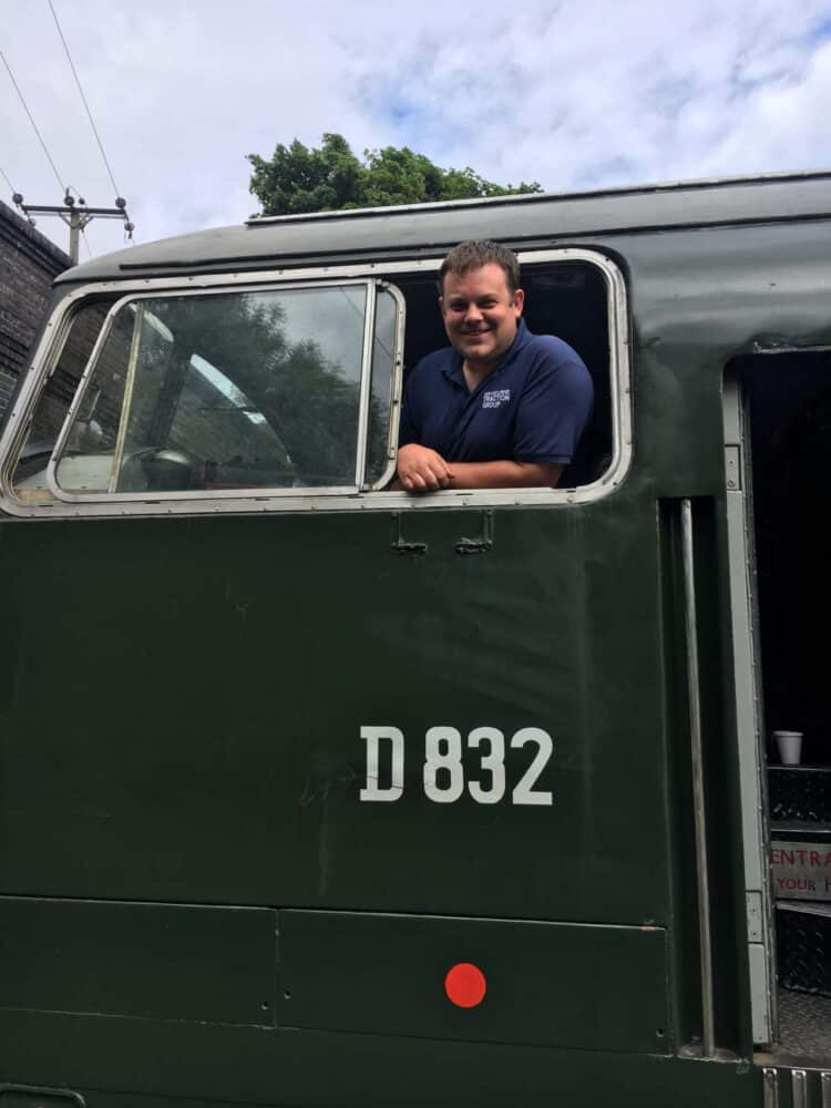 Mark Sexton announced as Traction and Rolling Stock Manager at the Mid Norfolk Railway