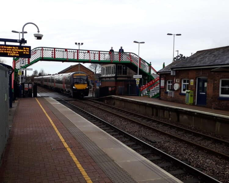 Narborough station footbridge reopens for passengers