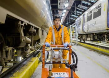 Northern Train Apprentice at Work // Credit Northern