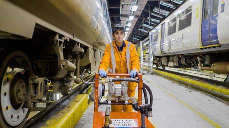 Northern Train Apprentice at Work // Credit Northern