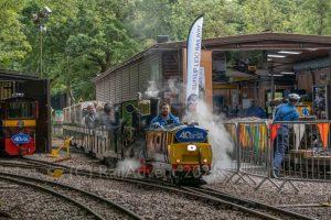 Robert and Mad Bess on the Ruislip Lido Railway