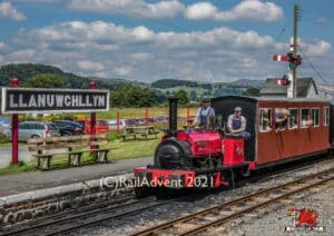 Alice on the Bala Lake Railway