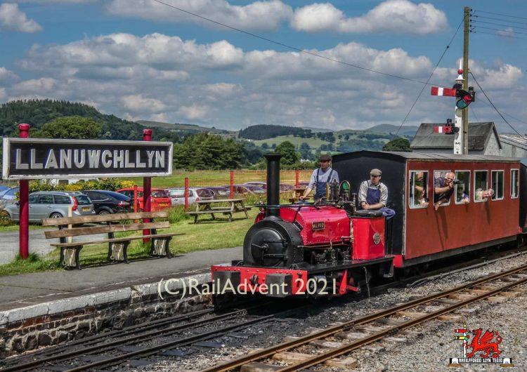 Alice on the Bala Lake Railway