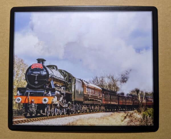 45596 Bahamas steam locomotive on the Keighley and Worth Valley Railway mouse mat