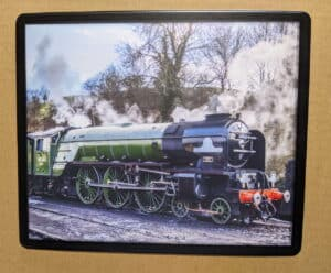 60163 Tornado at Bridgnorth on the Severn Valley Railway mouse mat