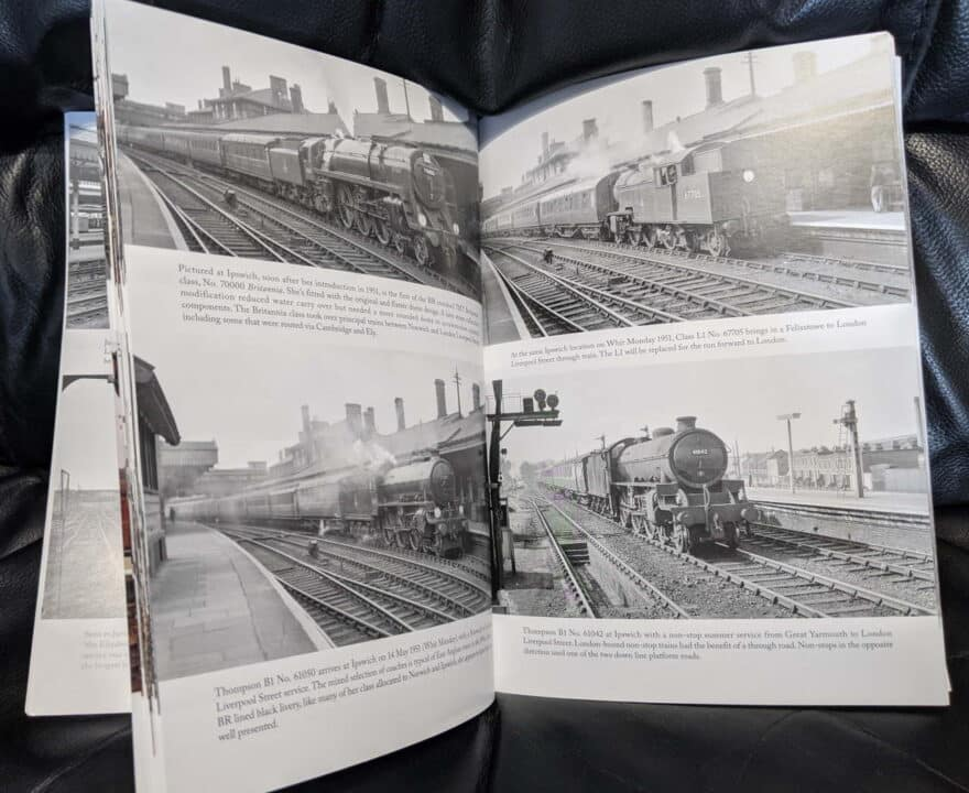East Anglia and The East Coast Railways by Amberley Publishing book review