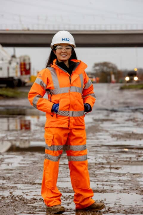 Railway Heroes Lin Qi from Laing O'Rourke and J. Murphy joint venture