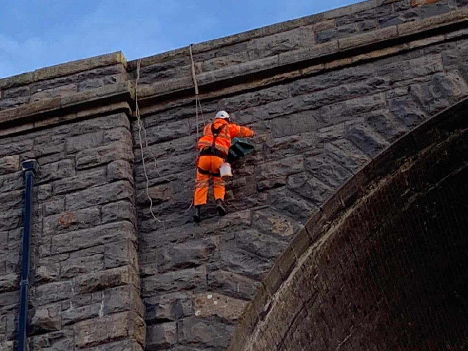 Ribblehead Viaduct repairs