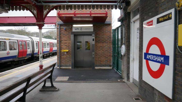 Amersham London Underground Station Lift
