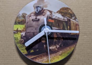 CD clock with 60009 Union of South Africa