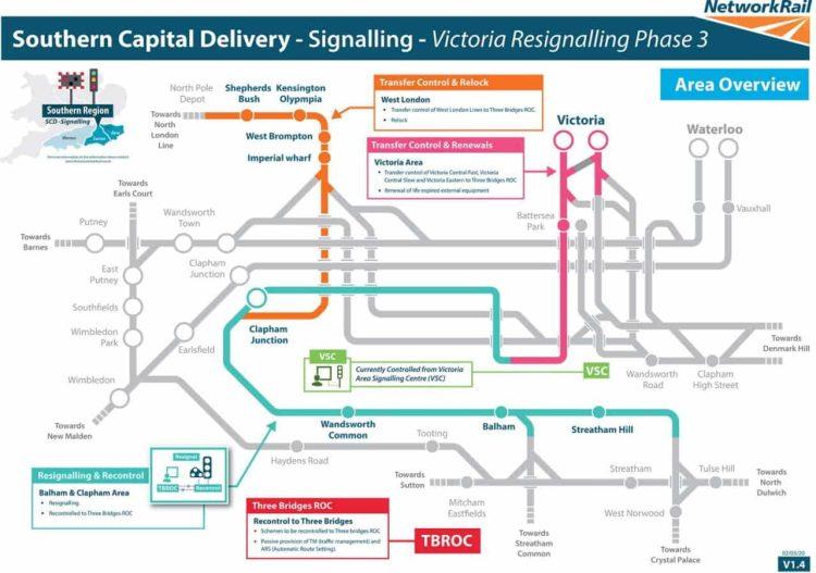 London Victoria resignalling
