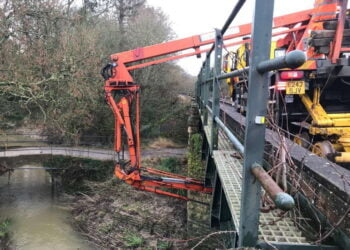 Vital maintenance between Dorchester West and Castle Cary