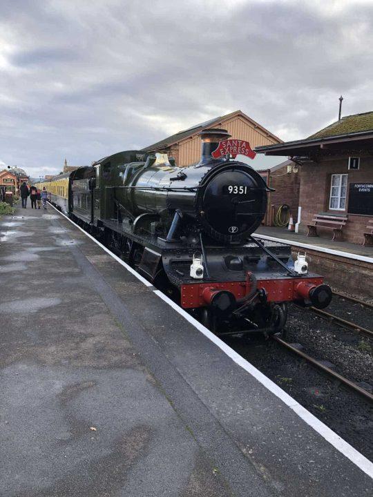 West Somerset Railway Santa Steam Train