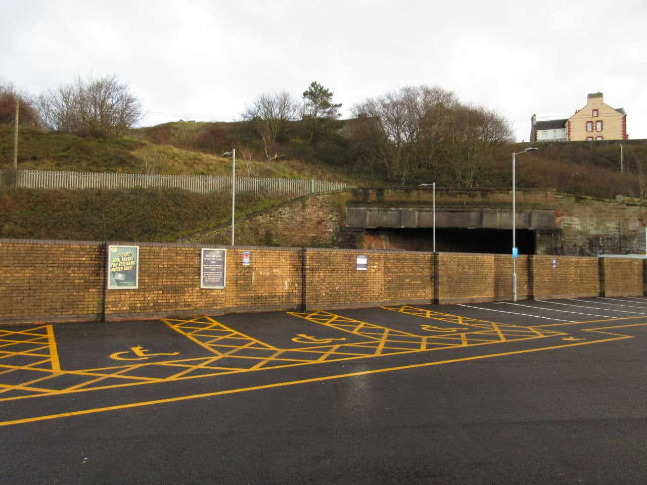 Whitehaven railway station accessible parking