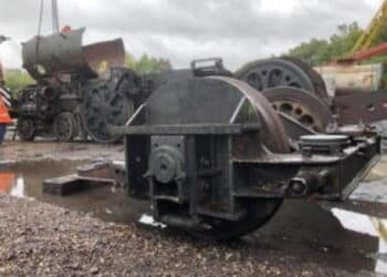 a wheel for the loco
