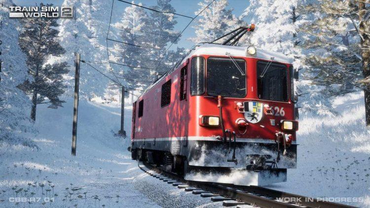 Arosa Linie coming soon to Train Sim World 2