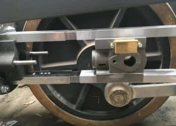 Falcon locomotive wheels