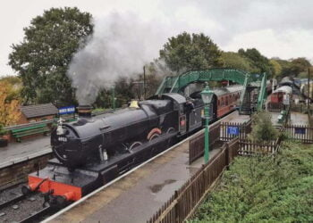 4953 in action on the Epping Ongar Railway