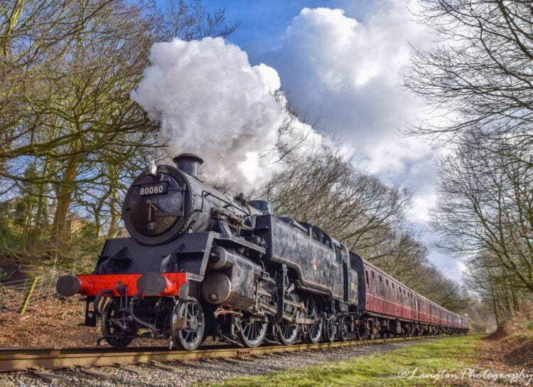 80080 on the East Lancashire Railway