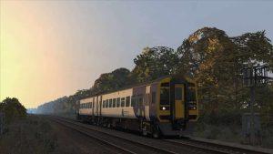 Class 158 on a new Leeds Lines scenario
