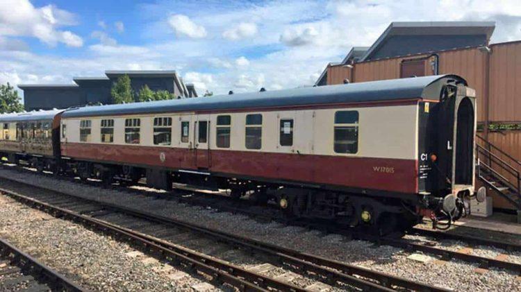 New support coach for 71000 Duke of Gloucester