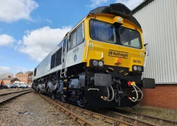 Class 66 66793 unveiled in its new livery