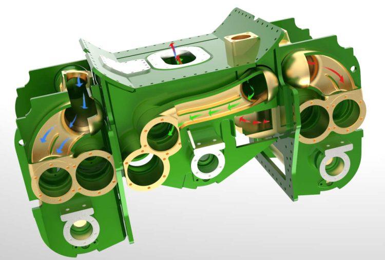 3D image Cylinder Block_Frewer Co Engineering Ltd