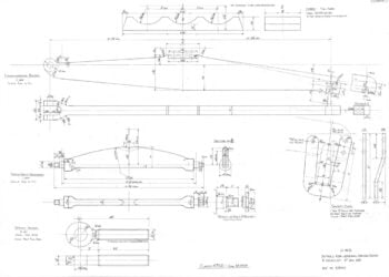 Drawings for steam locomotive 4709