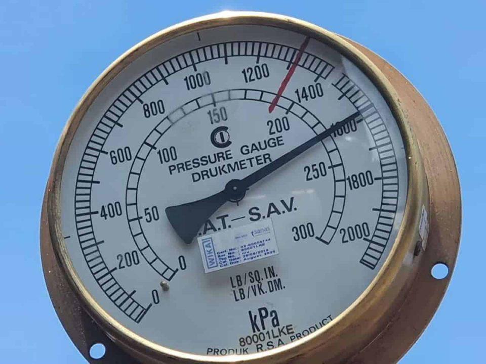Boiler test for 2767