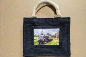 Small steam train lunch bag with 60009 Union of South Africa