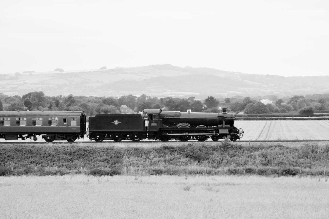 7903 coasts over the fields to Broadway