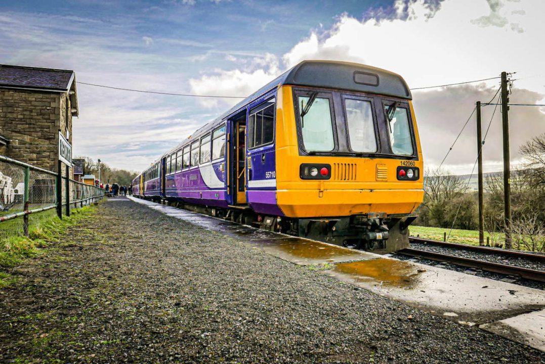 Ex-Northern Pacer on the Wensleydale Railway