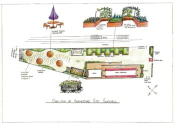 A drawing of how the Hednesford Station plans might look