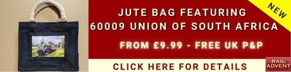Jute Bag Steam Train
