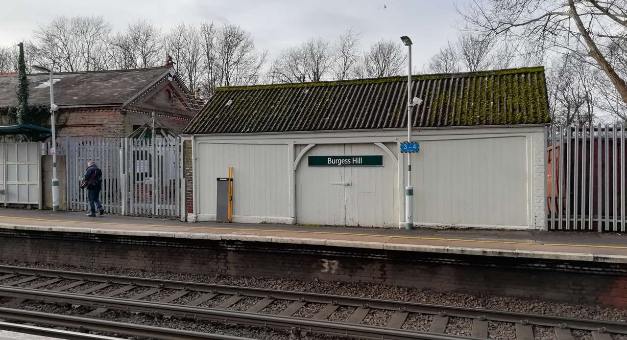 Before restored at Burgess Hill