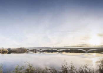 Colne Valley Viaduct South View Visualisation